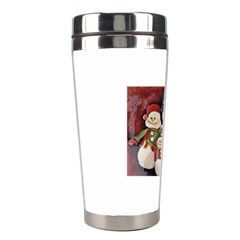 Snowman Family No. 2 Stainless Steel Travel Tumblers
