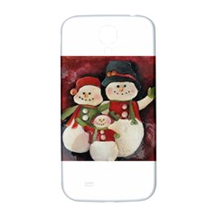 Snowman Family No. 2 Samsung Galaxy S4 I9500/I9505  Hardshell Back Case