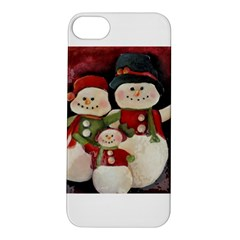 Snowman Family No. 2 Apple iPhone 5S Hardshell Case