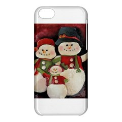 Snowman Family No. 2 Apple iPhone 5C Hardshell Case