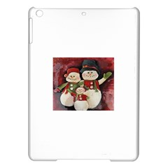 Snowman Family No. 2 iPad Air Hardshell Cases
