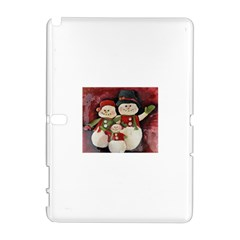 Snowman Family No. 2 Samsung Galaxy Note 10.1 (P600) Hardshell Case