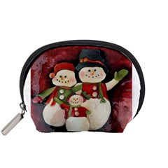 Snowman Family No. 2 Accessory Pouches (Small)