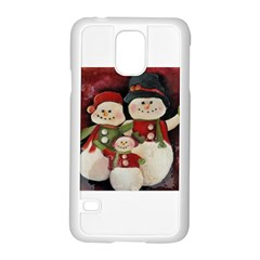 Snowman Family No. 2 Samsung Galaxy S5 Case (White)