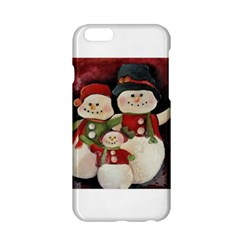 Snowman Family No. 2 Apple iPhone 6 Hardshell Case