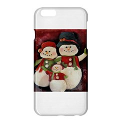 Snowman Family No. 2 Apple iPhone 6 Plus Hardshell Case