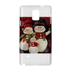 Snowman Family No. 2 Samsung Galaxy Note 4 Hardshell Case
