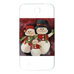 Snowman Family No. 2 Samsung Galaxy Mega I9200 Hardshell Back Case