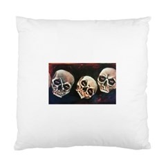 Halloween Skulls No  2 Standard Cushion Case (one Side)  by timelessartoncanvas