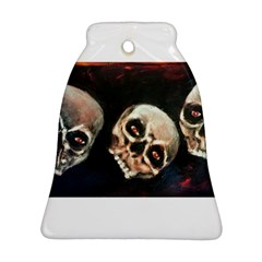 Halloween Skulls No  2 Ornament (bell)