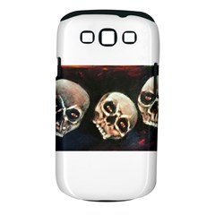 Halloween Skulls No  2 Samsung Galaxy S Iii Classic Hardshell Case (pc+silicone) by timelessartoncanvas