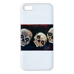 Halloween Skulls No  2 Iphone 5s Premium Hardshell Case