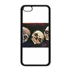 Halloween Skulls No  2 Apple Iphone 5c Seamless Case (black) by timelessartoncanvas