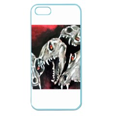 Halloween Skulls No  3 Apple Seamless Iphone 5 Case (color) by timelessartoncanvas