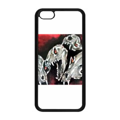 Halloween Skulls No  3 Apple Iphone 5c Seamless Case (black) by timelessartoncanvas