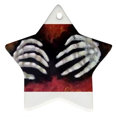 Halloween Bones Star Ornament (two Sides)  by timelessartoncanvas