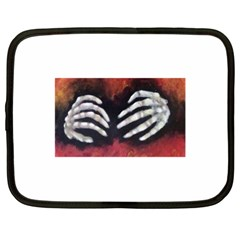 Halloween Bones Netbook Case (xl)  by timelessartoncanvas