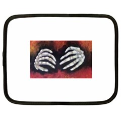 Halloween Bones Netbook Case (xxl)  by timelessartoncanvas