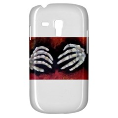 Halloween Bones Samsung Galaxy S3 Mini I8190 Hardshell Case by timelessartoncanvas