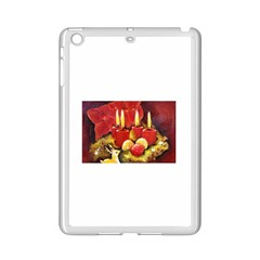 Holiday Candles  Ipad Mini 2 Enamel Coated Cases by timelessartoncanvas