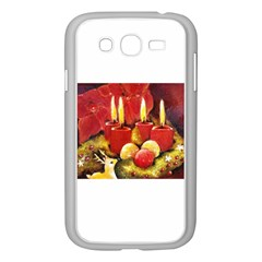 Holiday Candles  Samsung Galaxy Grand Duos I9082 Case (white) by timelessartoncanvas