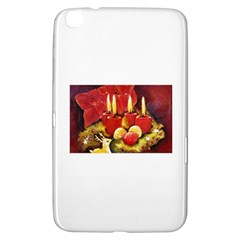 Holiday Candles  Samsung Galaxy Tab 3 (8 ) T3100 Hardshell Case