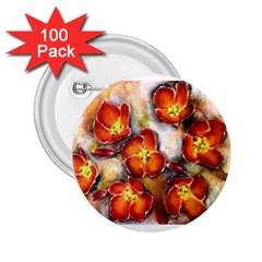 Fall Flowers 2 25  Buttons (100 Pack)  by timelessartoncanvas