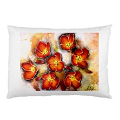 Fall Flowers Pillow Cases (two Sides) by timelessartoncanvas