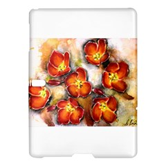 Fall Flowers Samsung Galaxy Tab S (10 5 ) Hardshell Case  by timelessartoncanvas