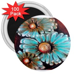 Fall Flowers No  2 3  Magnets (100 Pack)