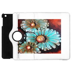 Fall Flowers No  2 Apple Ipad Mini Flip 360 Case by timelessartoncanvas
