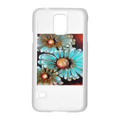 Fall Flowers No  2 Samsung Galaxy S5 Case (white) by timelessartoncanvas