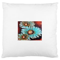Fall Flowers No  2 Standard Flano Cushion Cases (one Side)  by timelessartoncanvas