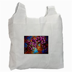 Fall Flowers No  5 Recycle Bag (two Side)  by timelessartoncanvas
