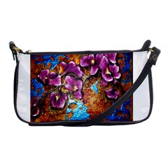 Fall Flowers No  5 Shoulder Clutch Bags by timelessartoncanvas