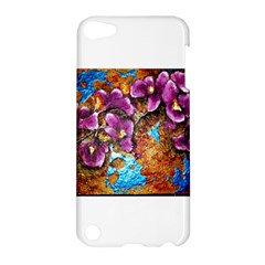 Fall Flowers No  5 Apple Ipod Touch 5 Hardshell Case by timelessartoncanvas