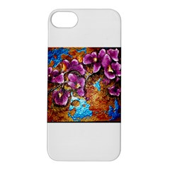Fall Flowers No  5 Apple Iphone 5s Hardshell Case
