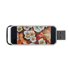 Fall Flowers No  6 Portable Usb Flash (two Sides) by timelessartoncanvas