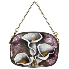 Gala Lilies Chain Purses (two Sides)  by timelessartoncanvas