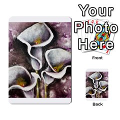Gala Lilies Multi-purpose Cards (rectangle)  by timelessartoncanvas