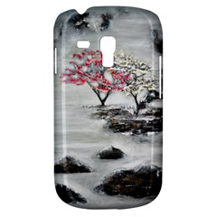 Mountains, Trees And Fog Samsung Galaxy S3 Mini I8190 Hardshell Case