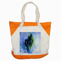 Bright Yellow And Blue Abstract Accent Tote Bag