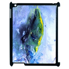 Bright Yellow And Blue Abstract Apple Ipad 2 Case (black) by timelessartoncanvas