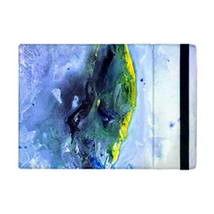 Bright Yellow And Blue Abstract Ipad Mini 2 Flip Cases by timelessartoncanvas