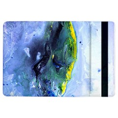 Bright Yellow And Blue Abstract Ipad Air 2 Flip by timelessartoncanvas