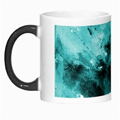 Turquoise Abstract Morph Mugs