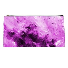 Bright Pink Abstract Pencil Cases by timelessartoncanvas