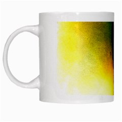 Watercolor Abstract White Mugs