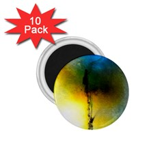 Watercolor Abstract 1.75  Magnets (10 pack)