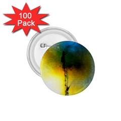Watercolor Abstract 1.75  Buttons (100 pack)